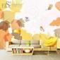厂家直销大型秋冬新品简约墙纸壁画抽象客厅电视背景墙贴无缝壁纸